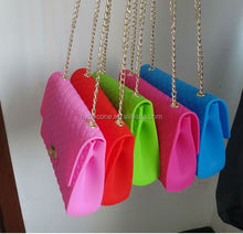 china manufacturer fashion new design cute silicone shoulder bag