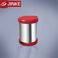 Stainless Steel Foot Sensor Electronic Waste Bin,Intelligent Ato Trash Can