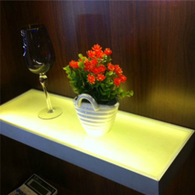 Acrylic Led Lighted Bar Shelf Shelf With Built In Light 3w
