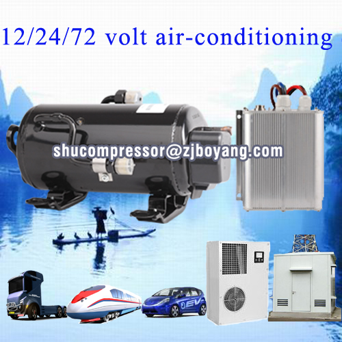 cooling a/c compressor for military rv suv camping car caravan roof top mounted travelling truck