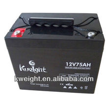 12V 70Ah 75AH Lead Acid Battery UPS Battery with High Quality