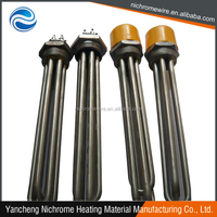 Water Or Oil Immersion Flange Tubular Heater