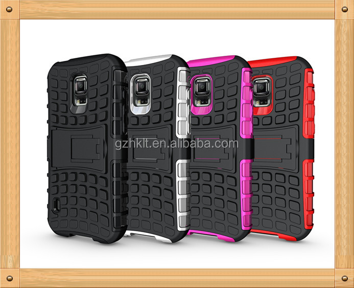 2014 mobile phone case for Samsung S5 Active armor case for S5 G870