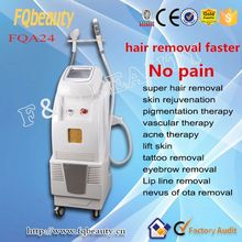 New design opt elight ilp laser back hair removal in clinic