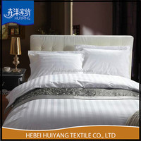 used hotel cotton bedding set factory price polyester cotton fabric