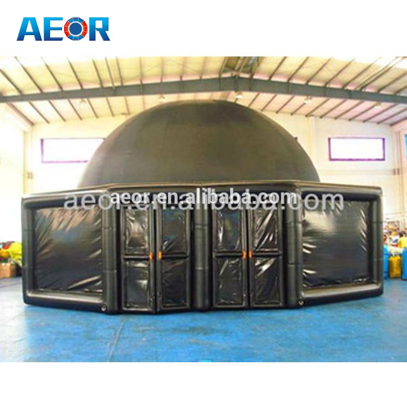 Black inflatable circus tent for sale