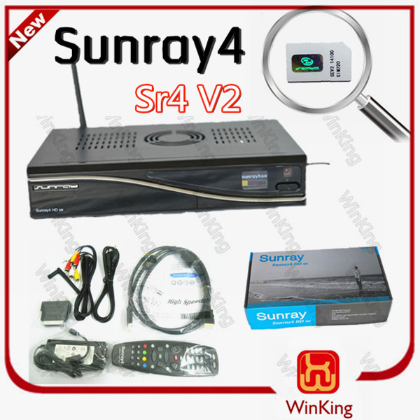 sat V2 sunray4 dm800se sr4 V2 3 in 1 tuner wifi decoder