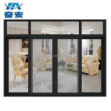 Factory aluminium casement door /cheap house aluminum casement doors and windows/used exterior