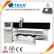 HSD Italy air spindle table moving LED luminous character processing high accuracy LED light cnc router
