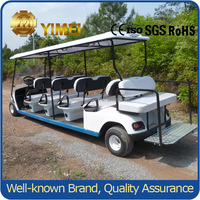 48v Battery Golf Cart with Durable Cargo Box
