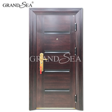 China cheap exterior galvanized metal steel main door design price philippines manila