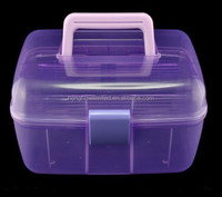 Plastic cosmetic case