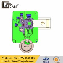 Custom Design Adc12 Die Cast Mould For Kitchen Cabinet Doors