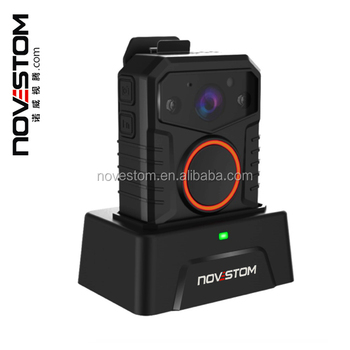 Novestom's police body camera and video recording body worn camera with wifi GPS optional