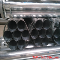 Galvanized Steel Round Pipe size for Contruction Materials