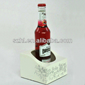 White acrylic alcohol display stand acrylic beverage display