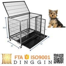 Outdoor pet square tube dog cage