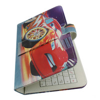"7"" leather case keyboard for tablet pc in shenzhen factory"