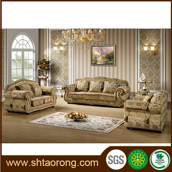 new design european style living room fabric sofas TRSO-846