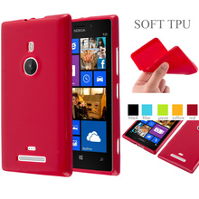 Jelly Glossy Silicone Soft Tpu Colorful Phone Case Back Cover For Nokia Lumia 925