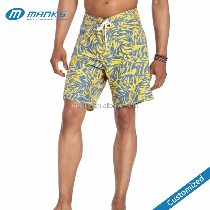 Custom Made Men 100% Polyester Full Sublimation Long Cheap Board Shorts