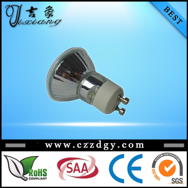Good quality ECO saving 28w 35w 40w 50w 75w 110-240v GU10 halogen lamp GU10 spot bulb with big discount
