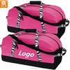 Lady Fashion Gym Hot Pink Zebra Duffle