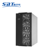 Wholesale 6W8 6/8/13 GPU Computer Mining Rig Case 4 Fans Bitcoin Mining Case