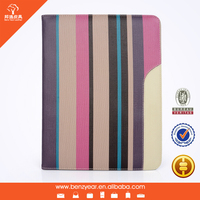 latest wholesale 7 inch PU leather tablet case for ipad mini
