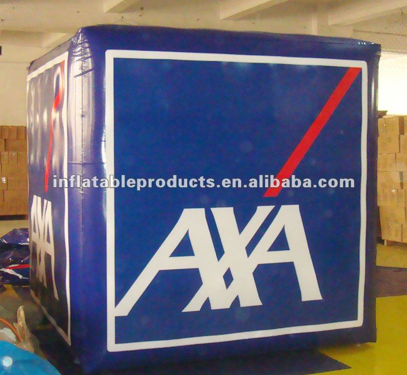 inflatable advertising cube