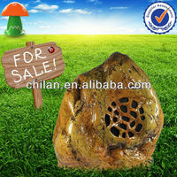PA Sound System Waterproof Garden Speaker 70/100V Rock Shaped WS675