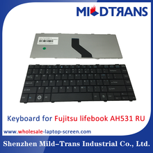 For Fujitsu lifebook AH531 RU laptop keyboard with all lauguage