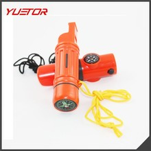 PRODUCT NAME: 7 in 1 whistle outdoor camping survive gear ITEM NO.: PY53001 BRAND