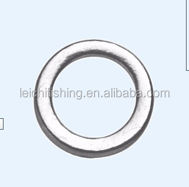 7mm 9.5mm 11mm sea fishing Solid Rig Rings