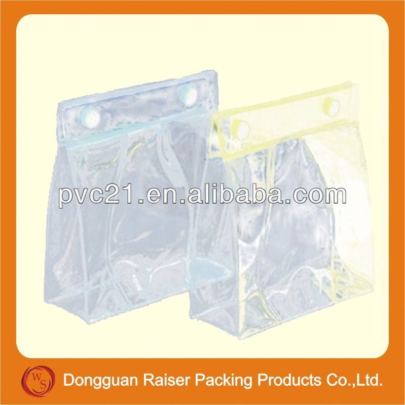 High quality small plastic drawstring gift bag