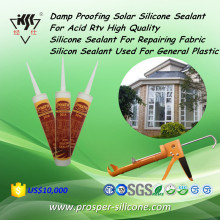 Damp Proofing Solar Silicone Acid Rtv High Quality Silicone For Repairing Fabric Silicon Sealant Used For General Plastic