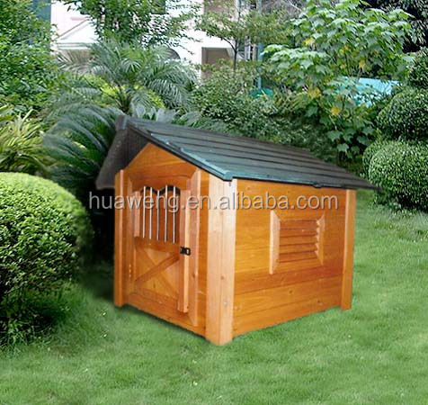 Large size outdoor wooden dog house