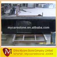 Prefab black local granite countertop