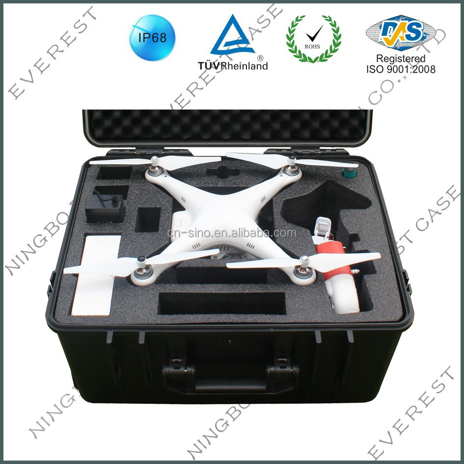 Hard Waterproof Protective Cases for DJI Phantom 2 ,Phantom 2 vision and Vision plus
