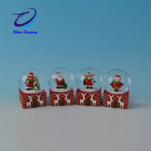 resin Christmas decoration Chiristmas figurine snow globe souvenir water ball