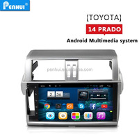 "PENHUI 10.1"" Android 4.4 quad core Car PC GPS for Toyota Prado 150 2014 Support Wi-fi+ 3G+DVR+OBD"