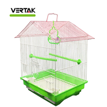 plastic wire garden metal bird cage
