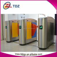 rfid gate security flap gate gate access controler with guard tour system