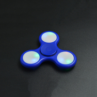 High Quality Fidget Toys 3 Lights Modes Led Edc Hand Fidget Spinners With Switch