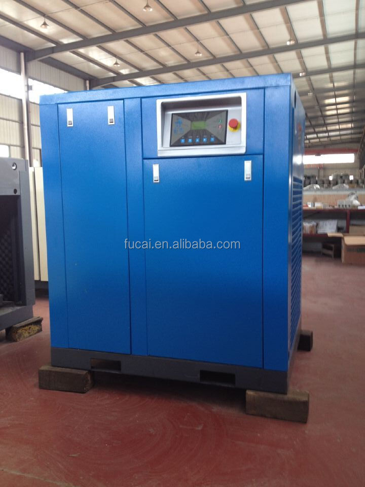 FUCAI Manufacturer ModelFC-200 150KW 27.6m3/min8bar woodworking industrial screw air compressor .