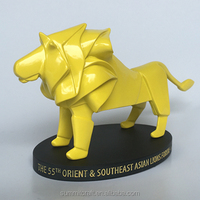 Custom Design VIP Lion Figure Luxury