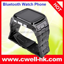 capacitive touch screen Metal Body TW810 Watch Mobile Phone with Bluetooth Watch Function 1.3MP Camera