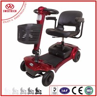 China Manufacturer 4 Wheel Electric Mobility Scooters