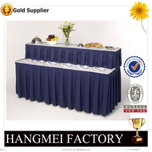 Eco-friendly Table Cloth Table Skirting Designs For Wedding