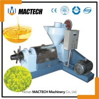 cold press oil extractor / automatic oil press machine / vegetable canola oil press machine